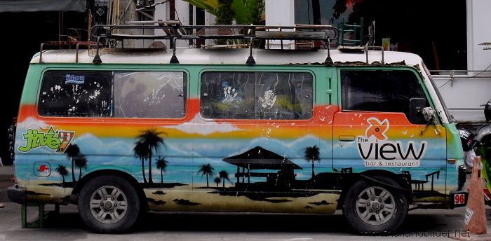 air brush bus strand