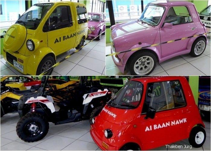 viererbild kleine autos